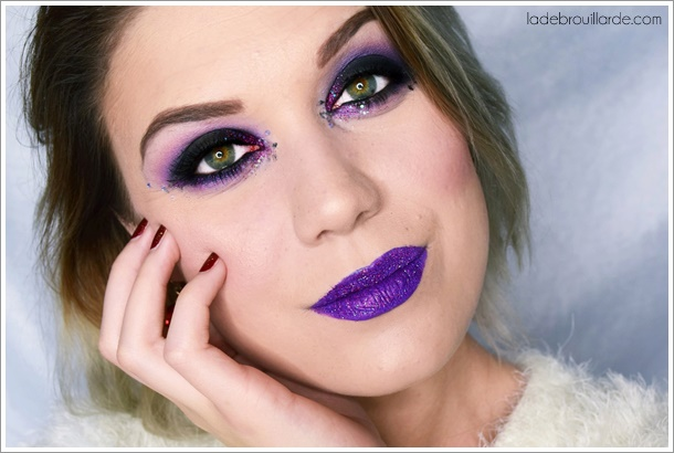 tutoriel-maquillage-smoky-eye-noir-violet-paillette-soiree