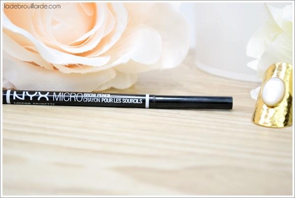 micro brow nyx avis revue