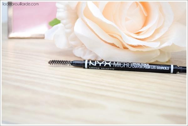 micro brow nyx avis revue crayon sourcils dupe ABH