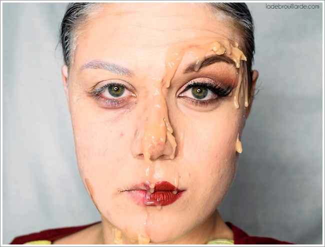 maquillage FX viellie jeune