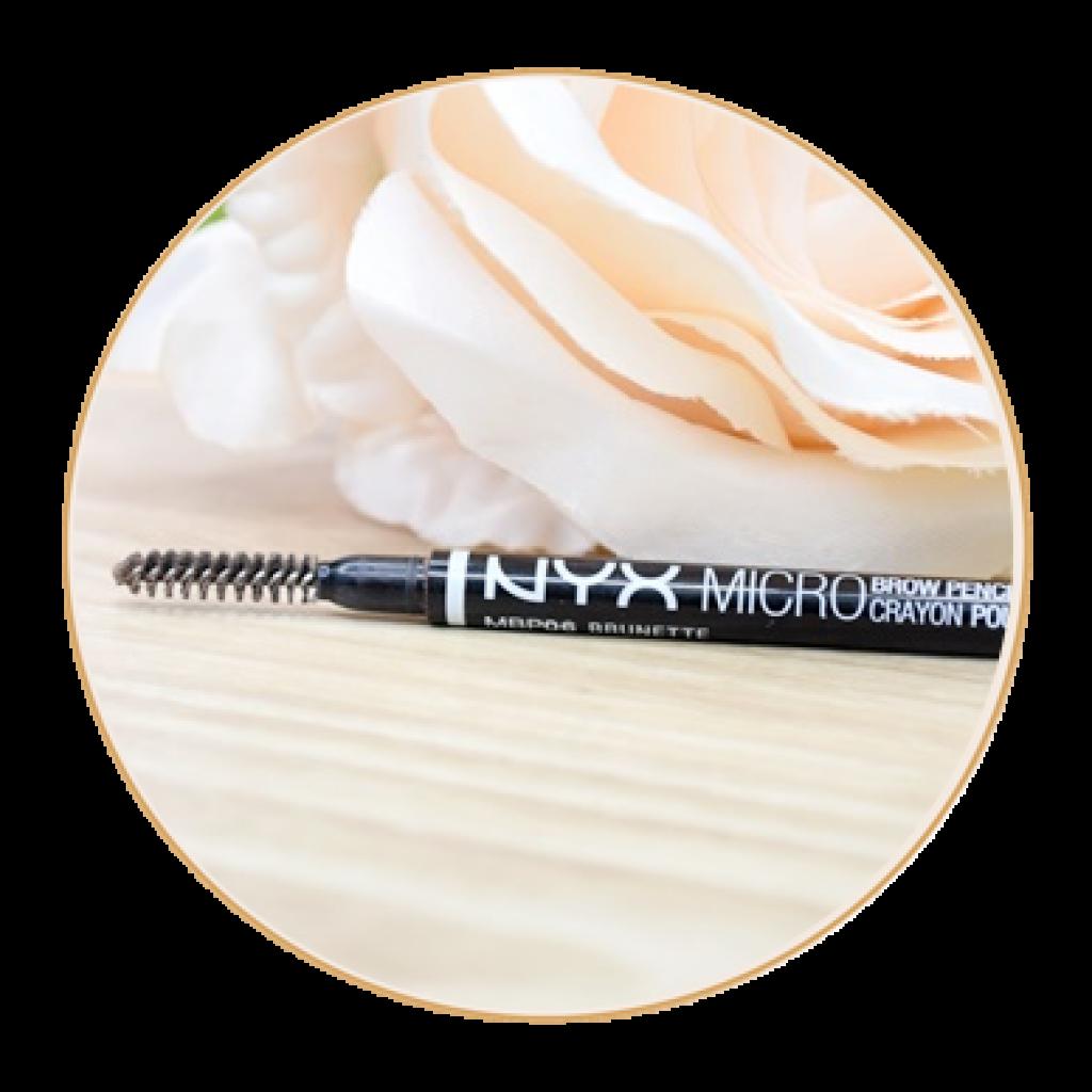 micro brow crayon sourcils NYX avis swatch