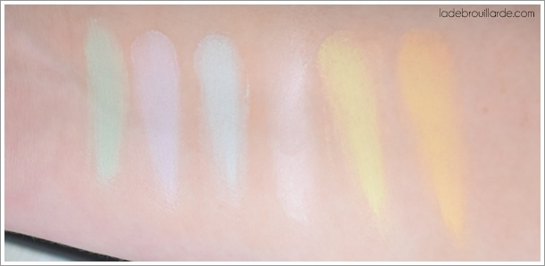 swatch avis palette correctrice sleek
