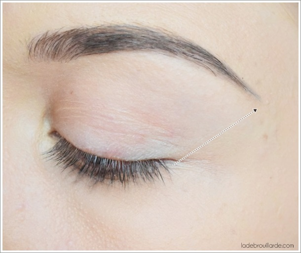 conseil application eye liner