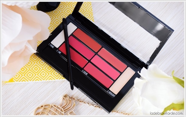 color drama lip palette maybelline revue