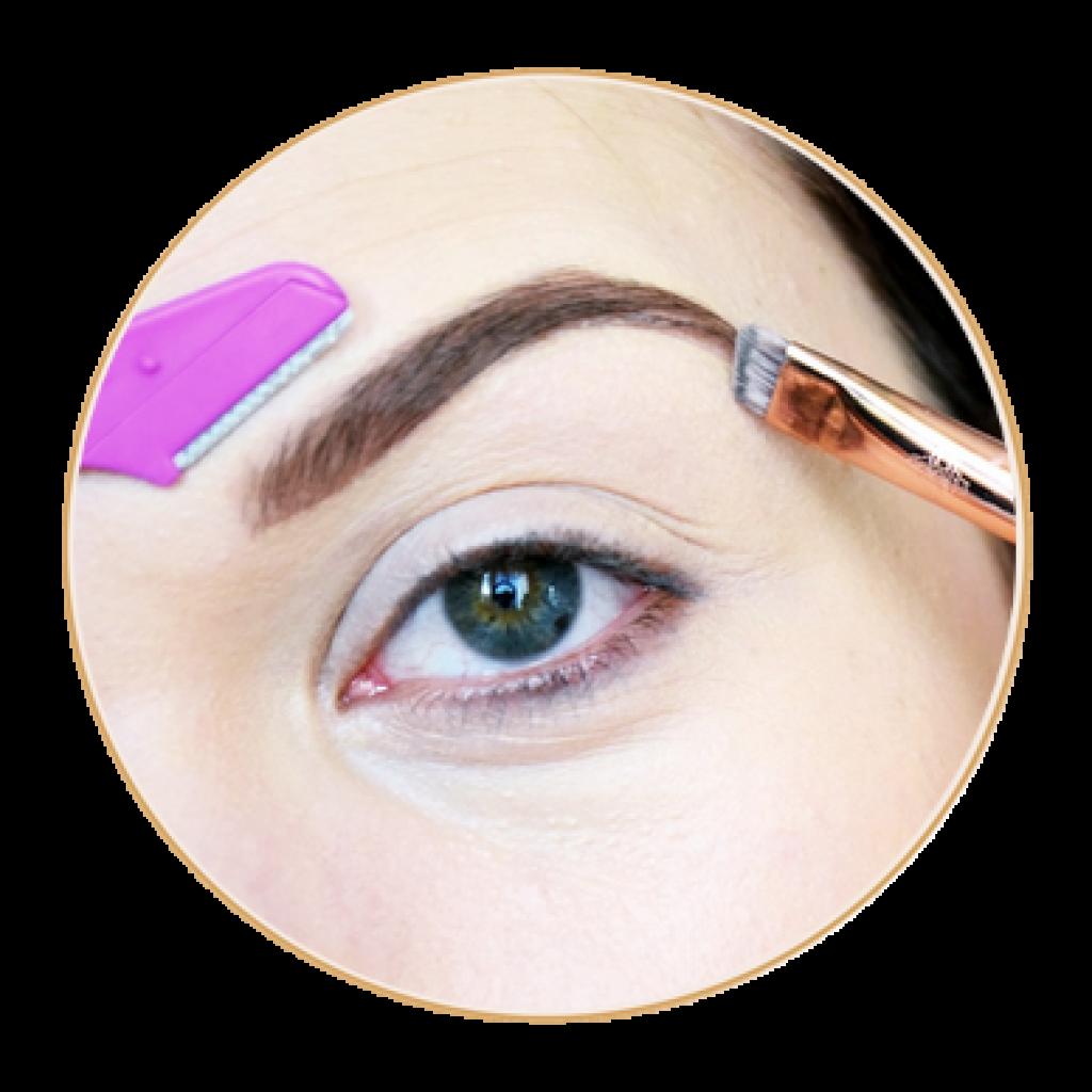 maquillage épilation sourcils