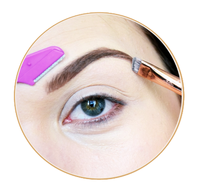 maquillage épilation sourcils