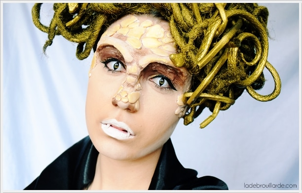 make up sfx medusa