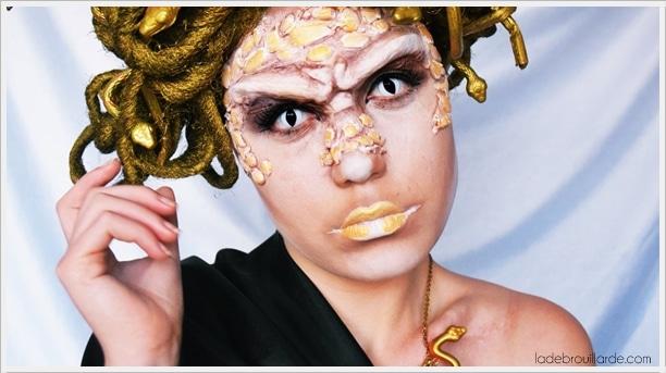 make up sfx medusa