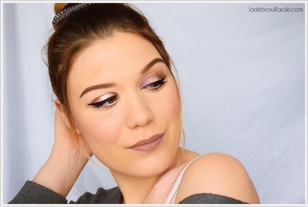tutoriel maquillage facile à faire yeux vert