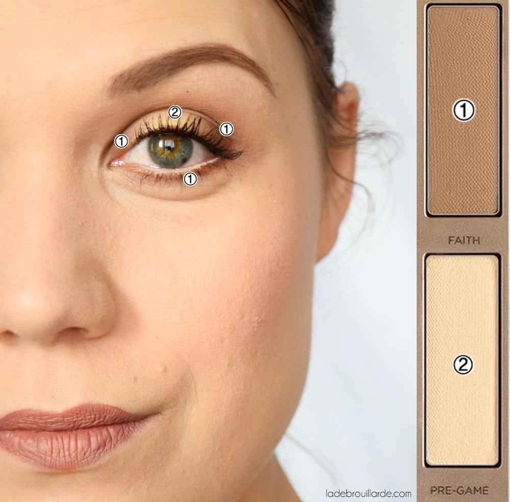 maquillage naked ultimate basic tutoriel 2