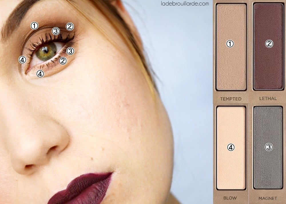 maquillage naked ultimate basic tutoriel 3