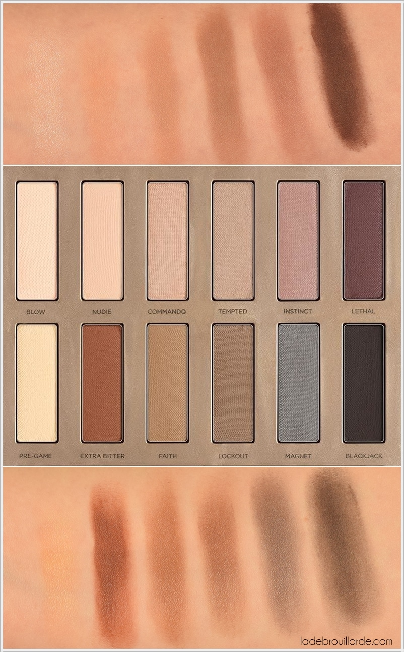 naked ultimate basics swatch