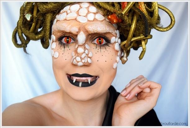 Medusa - Tutoriel maquillage FX - En route pour les NYX