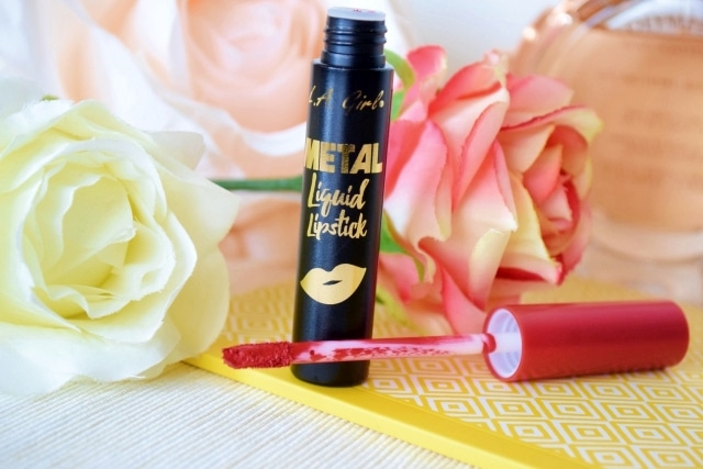 Metal Liquid Lipstick de LA Girl teasure