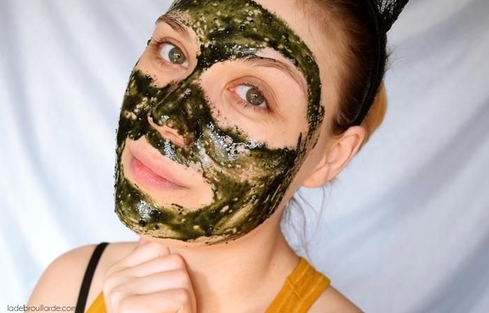 masque anti acné fait maison 100% naturel