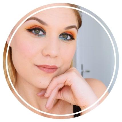maquillage tutoriel orange