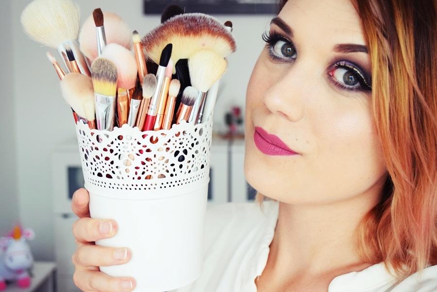 pinceau maquillage débutante