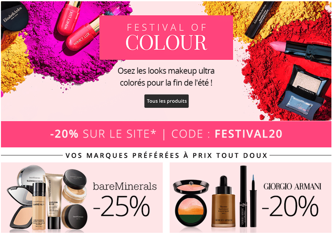 bon plan feelunique -20% code promo