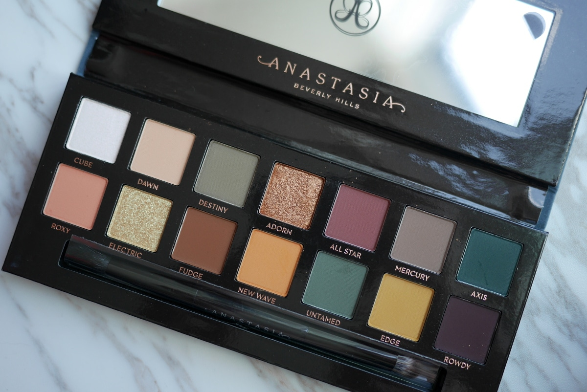 anastasia beverly hills subculture palette fallout defective review swatches photos