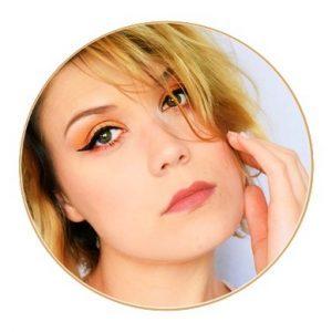 maquillage smoky nude de jour