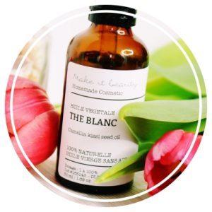 thé blanc huile vegetale