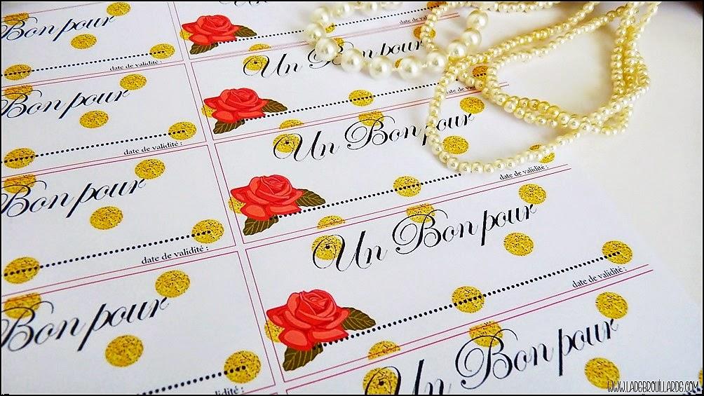 DIY St Valentin - Bon Pour - plaquette