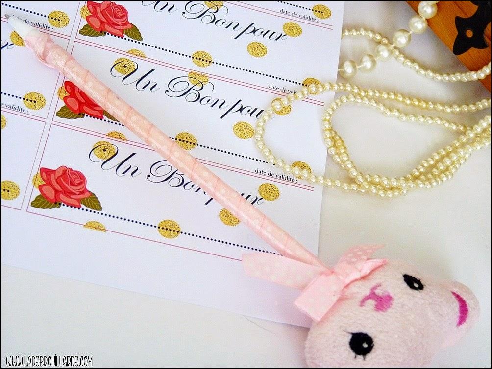 DIY St Valentin - Bon Pour