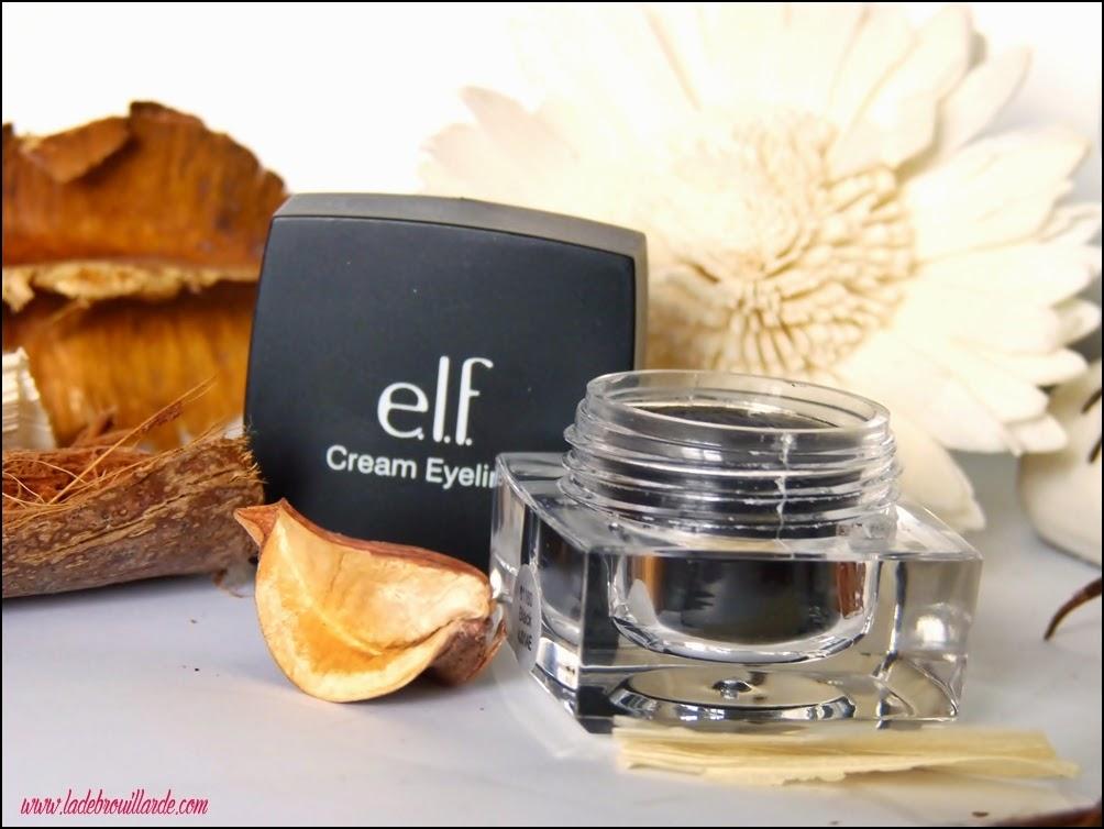 eye liner crème elf - black