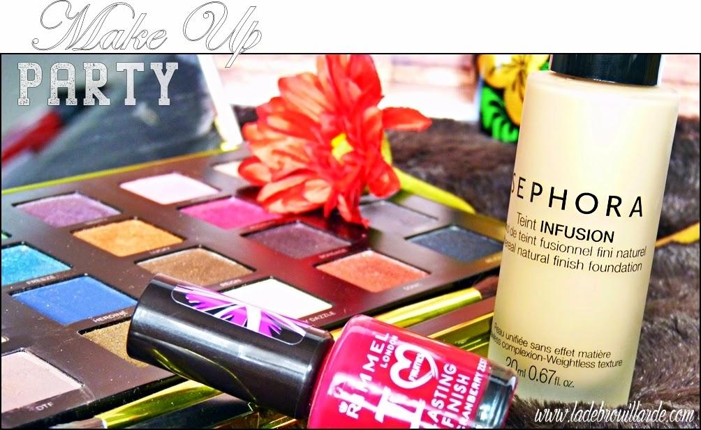 Favoris de Mars - Make up - Vice 3, Vernis & Teint Infusion