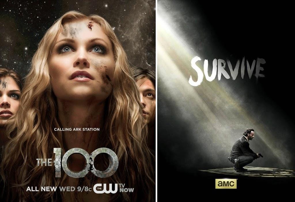 Favoris de Mars - Séries - The 100 et The Walking Dead