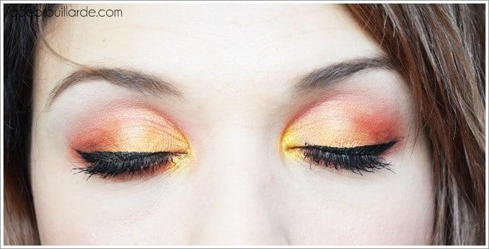 Make up sunset