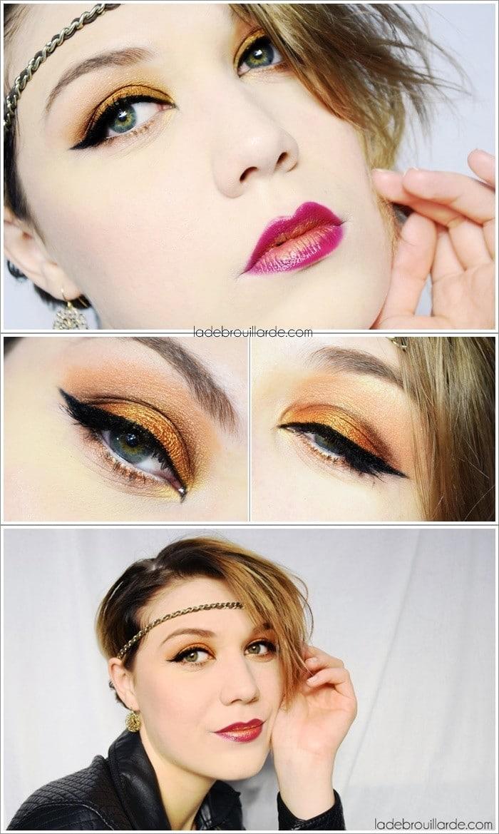 Monday shadow Challenge maquillage bronze
