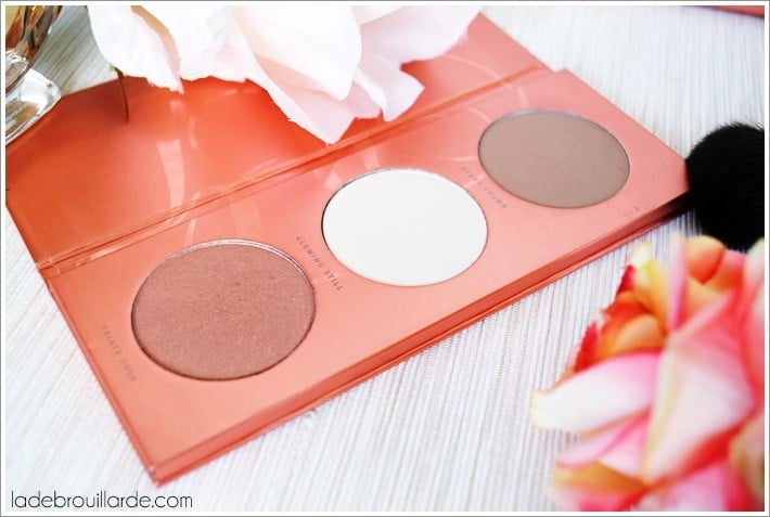 Rose golden palette teint zoeva