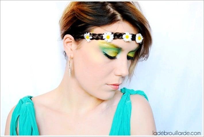 Monday shadow challenge maquillage émeraude