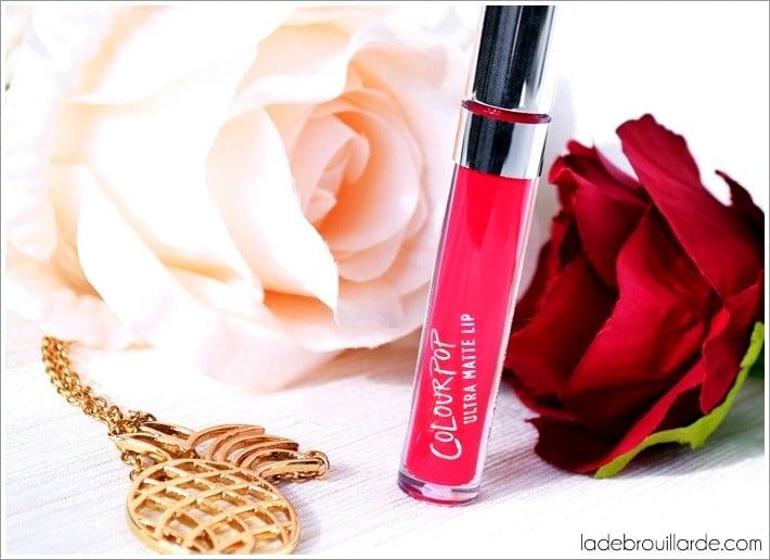 Mars Colour Pop encre à lèvres matte