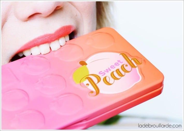 sweet peach avis too faced