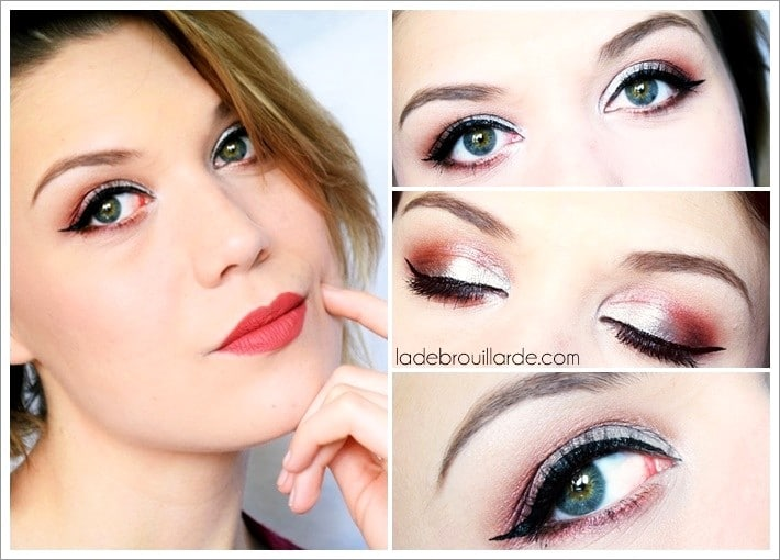 Maquillage Argenté tutoriel make up