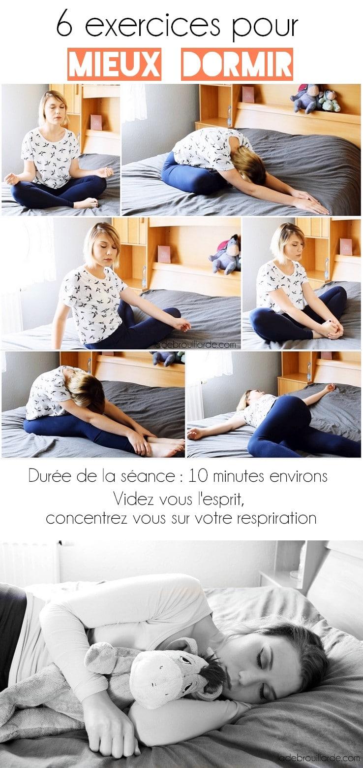 6 exercices relaxants pour bien dormir