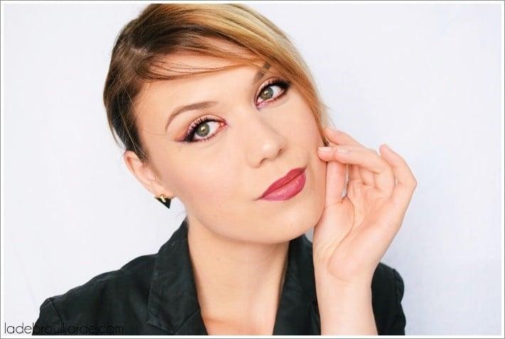 maquillage de soirée minimaliste et élégant