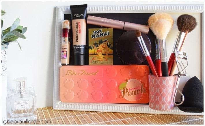 DIY rangement maquillage pas cher