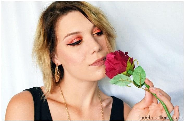 make up red intense