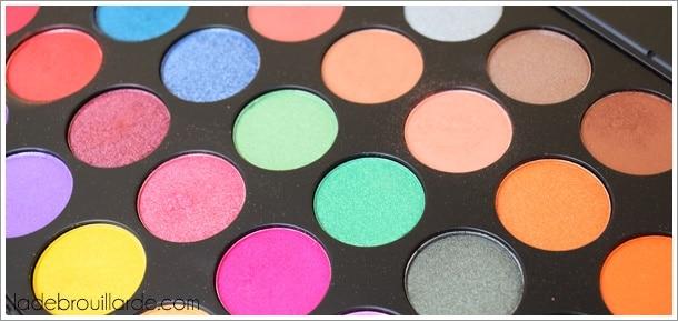 Palette 35U 35 Multi Color Shimmer MORPHE