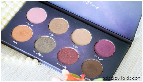 palette colors and make up