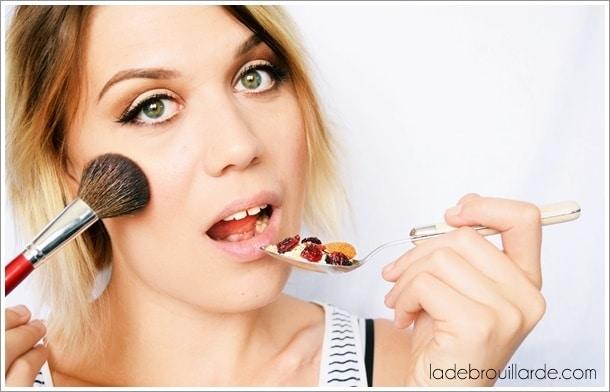 make up déj le live du maquillage