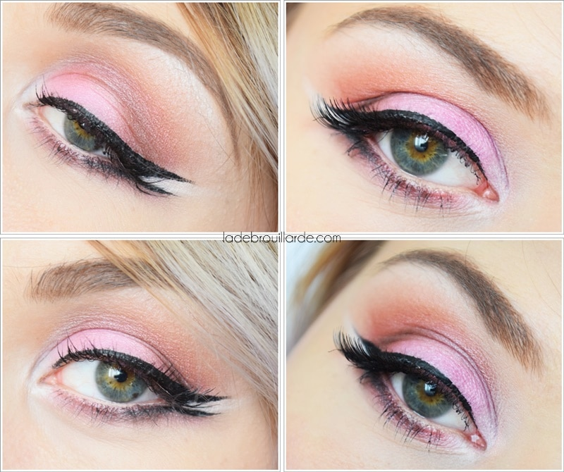 tuto make up double liner