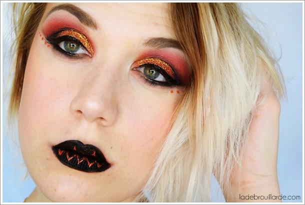 Lips Pumkin make up tutorial