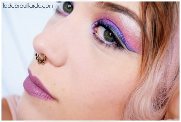 tutoriel maquillage soirée eye liner