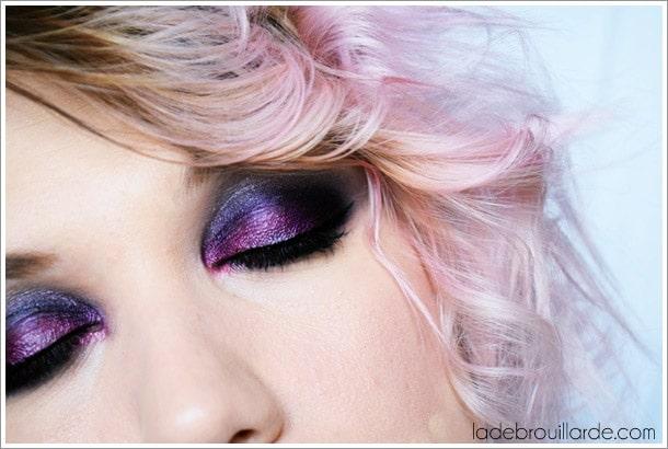 maquillage smoky eye soirée