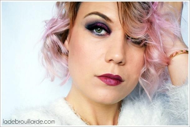 maquillage de soirée smoky eye