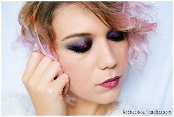 tutoriel make up smoky eye soirée